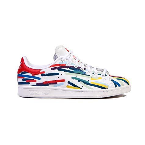 adidas stan smith white multi color s shoes b24704 ebay