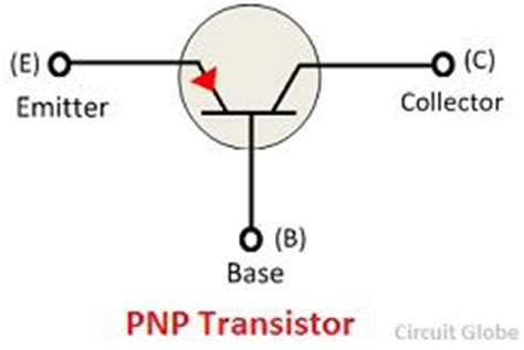 transistor pnp meaning what is pnp transistor definition symbol construction working circuit globe