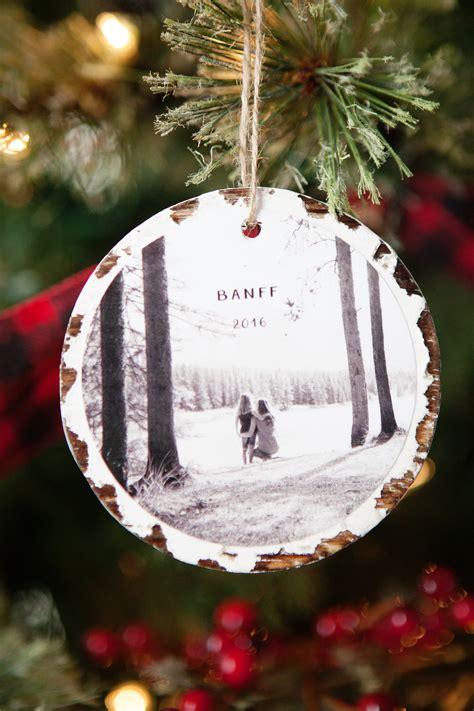 Handmade Photo Ornaments - 10 minute photo keepsake ornaments