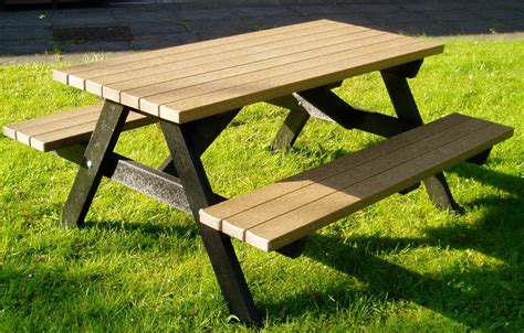 build a picnic bench portable picnic table cool comfort design furniture