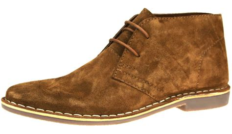 quality mens boots desert suede leather lace up mens chukka gobi