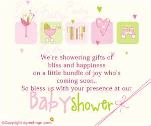 baby shower messages for invitations wording for baby shower invitation wblqual