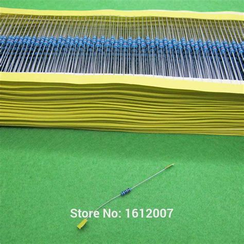 less than 1 ohm resistor resistor values less than 1 ohm 28 images pack of 100 1 4w carbon resistors value from 100