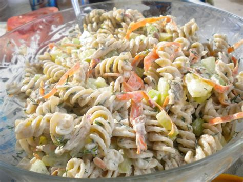 pasta salad dressing recipe recipe whole wheat pasta and chicken salad