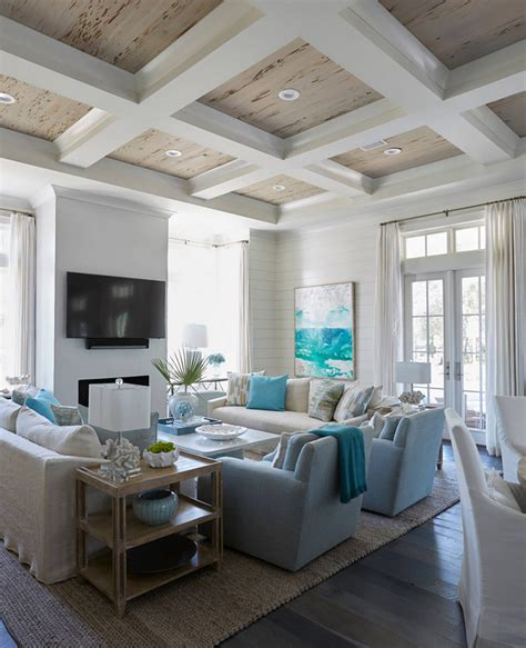 beach home bedroom with pecky cypress barn door on rails florida beach house with new coastal design ideas home