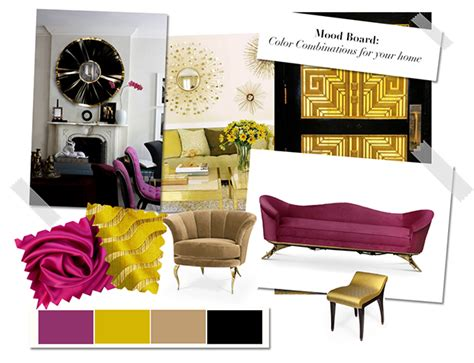 Interior Accents Mood Board Color Combinations For Your Home Part 1
