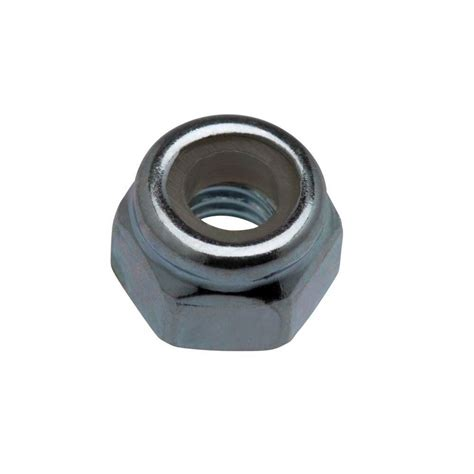 the nut house everbilt 1 4 in 20 tpi zinc plated nylon lock nut 2