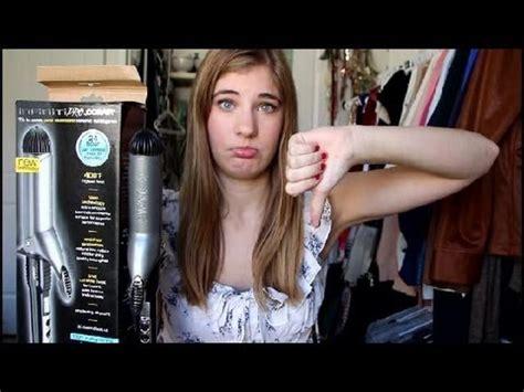 pageant curls hair cruellers versus curling iron review conair infiniti 1 1 2 curling iron youtube