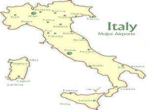 Map Of Italy Airports by Italy Airport Map Png