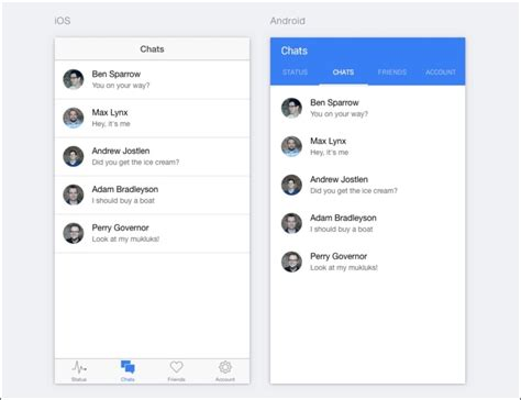 8 building a simple social app ionic framework by