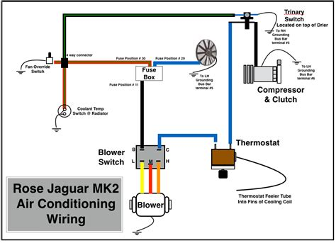 jaguar e type air conditioning wiring diagram 45 wiring