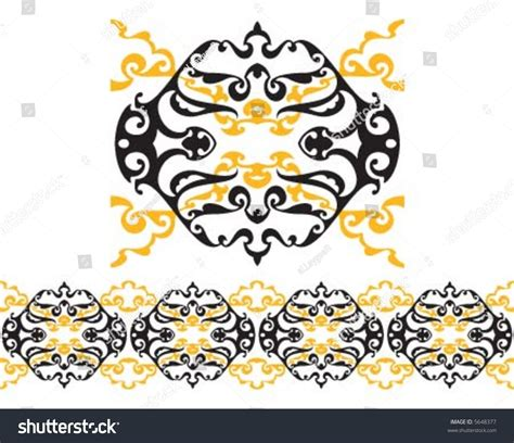 2 color pattern vector two color pattern border stock vector 5648377 shutterstock