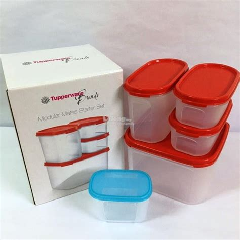 Mini Clear Mate Tupperware tupperware modular mates starter set end 8 25 2016 3 15 am