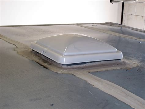 rv roof vent fan upgrade vent cover for ventline old style rounded dome trailer