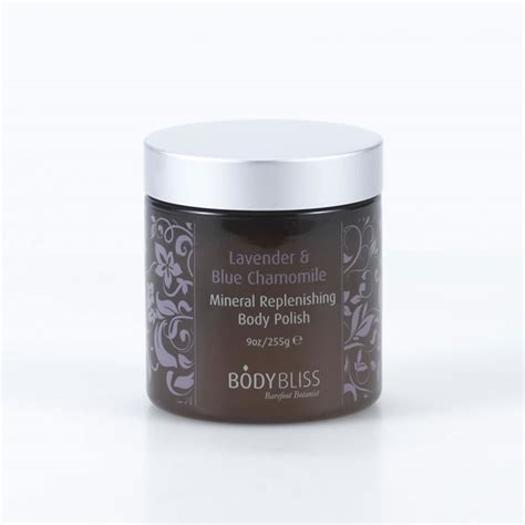 Lavender & Blue Chamomile Mineral Replenishing Body Polish   BODY BLISS Factory Direct