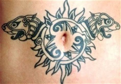 tattoo fixers man with woman on belly button 100 best tribal tattoo designs for men and women
