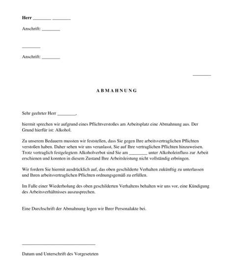 Mahnung Schreiben Muster österreich Muster Abmahnung Azubi Abmahnung Wegen Unpnktlichkeit Kndigung Musterschreiben Muster