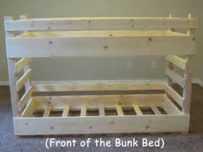 How To Build A Loft Bed Frame How To Build Bunk Beds 187 Any