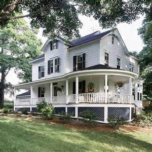 Farm House Porches Front Porch Design Ideas Wrap Around Porches Wrap