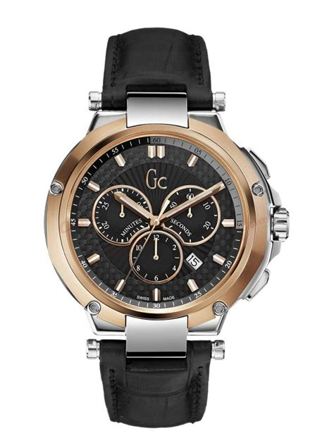 Gc Guess Leather Black guess collection executive black leather x66001g2s