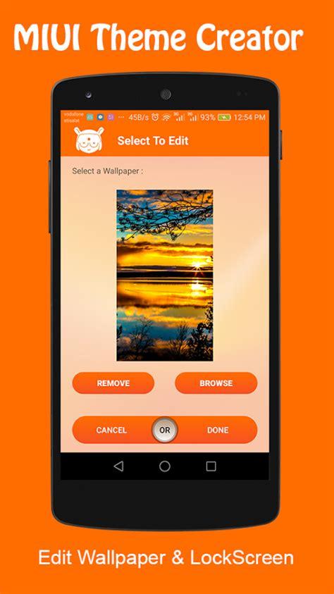 mi themes maker create i vostri temi per smartphone xiaomi con miui theme