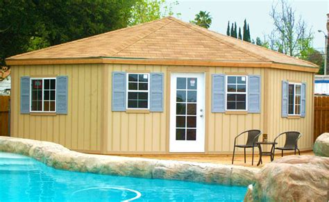 Colorful Beach Houses by Custom Wood Sheds Outdoor Storage Buildings Garden Sheds