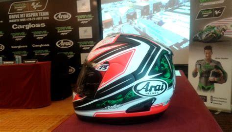 Helm Arai Cargloss cargloss siapkan layanan after sales untuk pembeli helm arai gilamotor