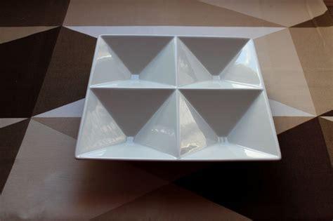Origami Dish - arabia lokerovati origami dish by kaj franck
