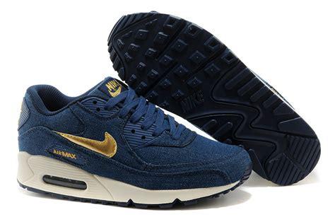 Nike Airmax 90 Denim Gold Premium jual nike air max 90 denim blue gold gudang sneakers