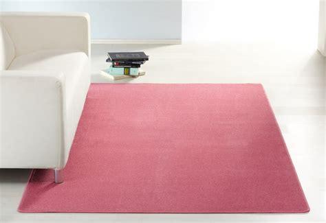rosa teppich läufer wohnzimmer design teppich