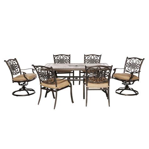 Hanover Outdoor Furniture MONDN7PCSW 2 Monaco 7 Piece