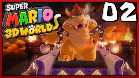 3d Walkthrough super mario 3d world co op episode 2 bowser s car