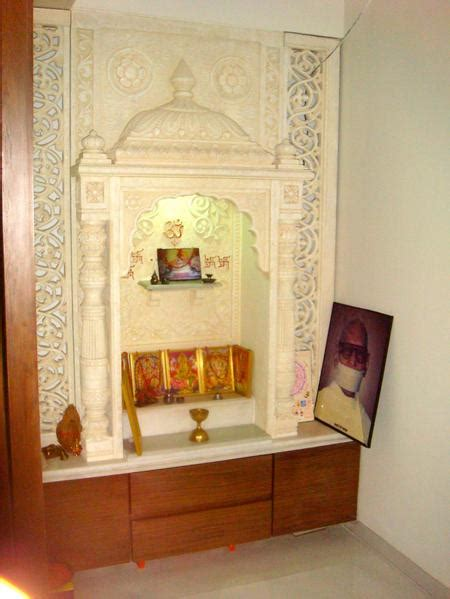 Home Mandir Decoration by Puja Room In Modern Indian Apartments Choose Your Pooja Room