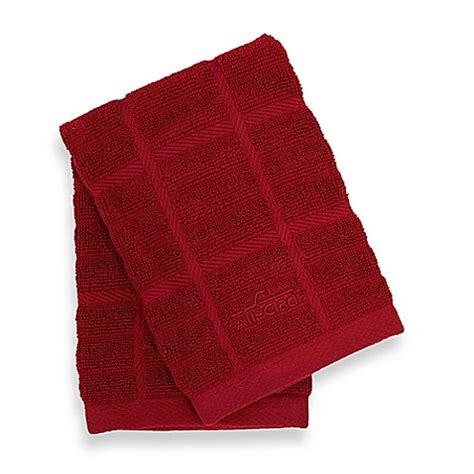 all clad solid kitchen towel www bedbathandbeyond com all clad solid dish cloths set of 2 bed bath beyond