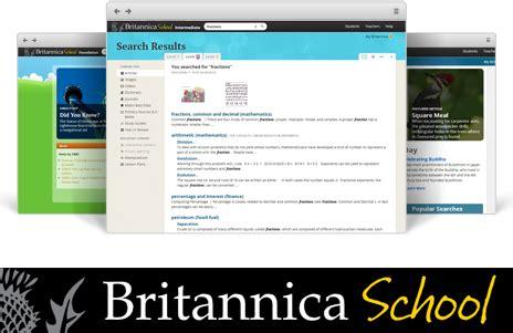 britannica school about us scoilnet