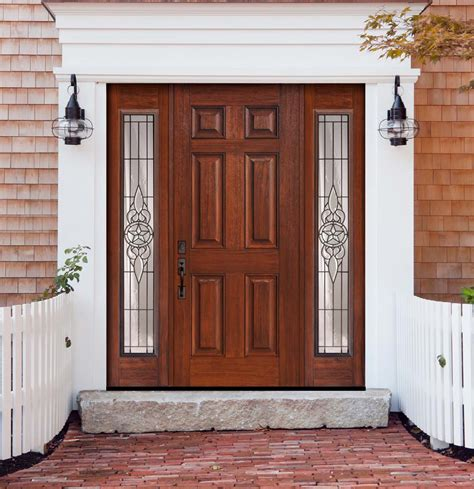Door With Sidelights by Us Door And More Inc Make Your Entry Door Trendy With Sidelights