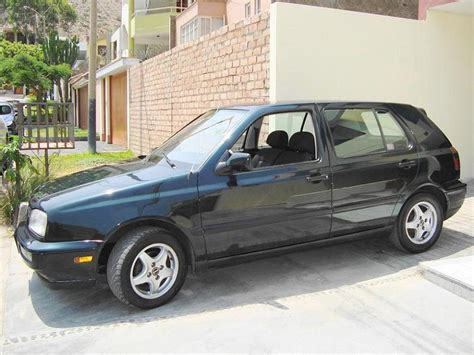 volkswagen golf manhattan nacional ano  impecable