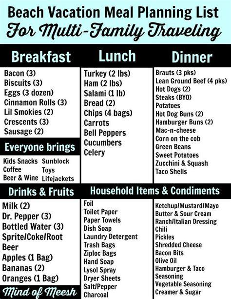 sle meal planning les 25 meilleures id 233 es de la cat 233 gorie cing meal