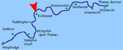 thames river usa map river thames