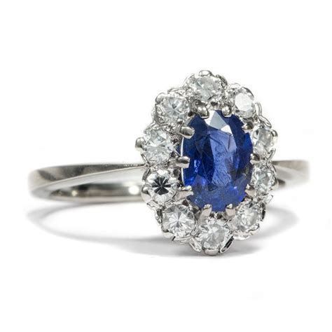 blue vintage antique engagement rings berlin the real