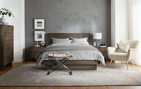 room and board bedroom hudson bedroom collection in bark stain modern bedroom furniture room board