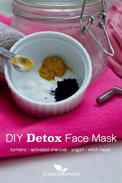 Detox Diy Mask by Diy Detox Mask Made With Charcoal Turmeric Witch