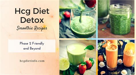 Detox Smoothie Hcg hcg diet detox smoothie recipes great for hcg diet