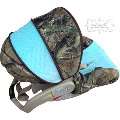 camo car seat covers for infants camo withtiffany blue infant car seat cover by sewcuteinaz
