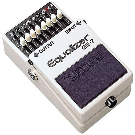 Ge 7 Graphic Equalizer ge 7 graphic equalizer 171 effectpedaal gitaar