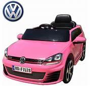 Voiture &233lectrique Enfant Volkswagen Golf GTI 12V Roues Led