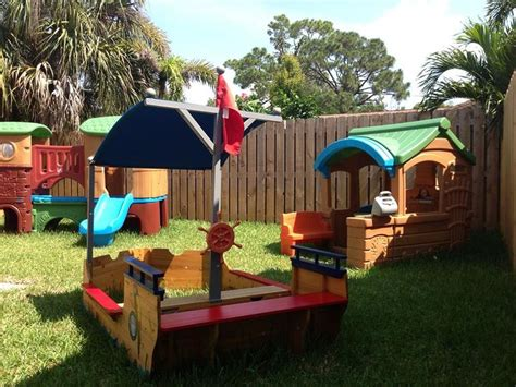 Backyard Preschoolers Playground And Outdoor Ideas For Family Home Daycare