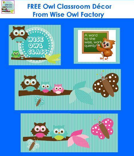 owl bulletin board printables  owl classroom theme