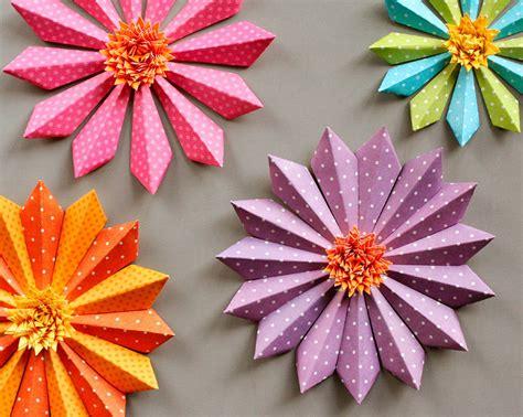 como hacer flores de papel para navidad como hacer flores de navidad de papel 5 navidad tu