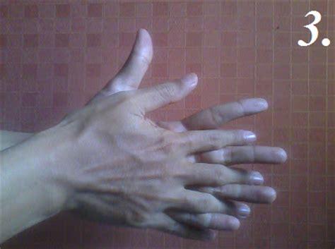 cuci tangan  langkah leonarsis